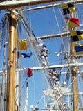 Веревочки экипажа взбираясь Стоковая Фотография