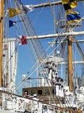Веревочки экипажа взбираясь Стоковые Фотографии RF