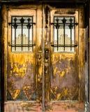 двери богато украшенный Стоковые Фото