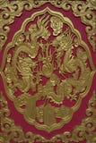 двери красные Стоковые Фотографии RF
