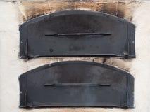 2 двери печи Стоковые Фотографии RF