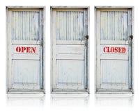 двери старые Стоковая Фотография