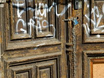 двери Стоковая Фотография