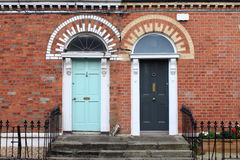 двери dublin georgian Стоковое Фото