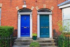 двери dublin georgian Стоковое Изображение RF