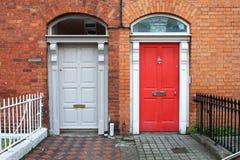двери dublin georgian Стоковые Изображения