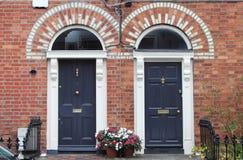 двери dublin georgian Стоковые Фотографии RF
