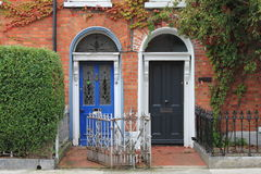 двери dublin georgian Стоковые Фото