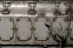 4 двери grunge металлических ржавых Стоковые Изображения