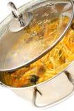 вермишель супа грибов Стоковые Изображения RF