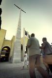 Верный в San Giovanni Rotondo Стоковая Фотография