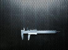 Верньерный крумциркуль с самыми интересными Стоковые Фото