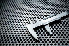 Верньерный крумциркуль с самыми интересными Стоковое Изображение RF