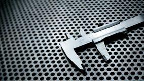 Верньерный крумциркуль с самыми интересными Стоковая Фотография RF