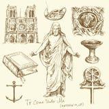вероисповедание христианства Стоковое Изображение