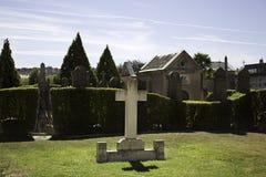 Вероисповедное кладбище Стоковые Изображения RF