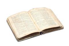вероисповедное стародедовской книги открытое Стоковое Фото