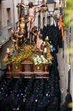 Вероисповедные шествия в святейшей неделе. Испания Стоковые Изображения RF