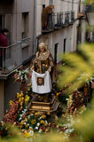 Вероисповедные шествия в святейшей неделе. Испания Стоковая Фотография
