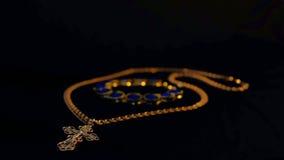Вероисповедание золота перекрестное стоковые фотографии rf