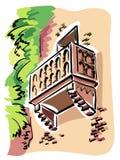 Верона (балкон Juliet) Стоковые Изображения RF