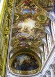 Версаль - королевская часовня Стоковое Изображение RF