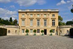 Версаль, Франция - 19-ое августа 2015: Замок Версаль Стоковые Изображения RF