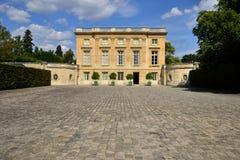Версаль, Франция - 19-ое августа 2015: Замок Версаль Стоковые Фотографии RF