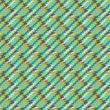 Версия вектора multicolor современная houndstooth Стоковое Изображение RF