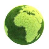 Версия 09 зеленой планеты легкая стоковые фото