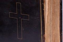 версия 2 библий старая Стоковая Фотография