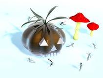 версия halloween детей Стоковое Изображение