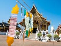 Вертеп запрета Wat, красивый висок в Chiangmai, Таиланде Стоковые Фото