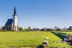 Вертеп Hoorn Texel горизонта Нидерланды Стоковая Фотография