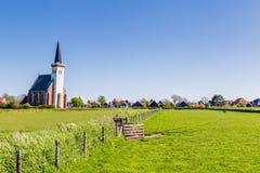 Вертеп Hoorn Texel горизонта Нидерланды Стоковые Фотографии RF
