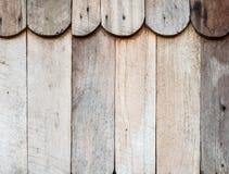 Вертикальная деревянная предпосылка текстуры стены Стоковые Изображения RF