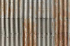 Вертикальная линия картина стены цинка волны Стоковое Изображение RF