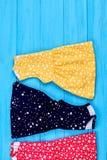 Вертикальное изображение платья лета младенца Стоковое Изображение