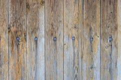 Вертикально обнаруженные местонахождение nekrashenny доски зафиксированные ногтями Стоковое Фото