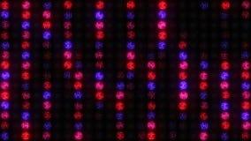 Вертикальные линии на tricoloured стене света сток-видео