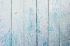Вертикальный свет - голубая деревянная текстура планок Backgrond архитектуры, конструктивная схема дизайна интерьера Стоковое Изображение