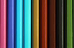 Вертикальный цвет рисовал текстуру спектра градиента Стоковое Фото