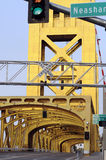 вертикаль башни моста Стоковое Изображение RF