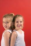 вертикаль близнеца усика молока Стоковые Изображения