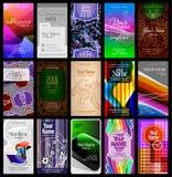 вертикаль визитной карточки Стоковая Фотография RF