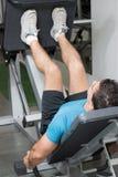 вертикаль давления ноги Стоковые Изображения