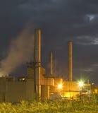 вертикаль ночи индустрии Стоковые Фотографии RF