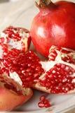 вертикаль рапса pomegranate формы Стоковая Фотография