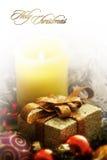 вертикаль рождества карточки Стоковое Изображение RF