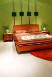 вертикаль спальни флористическая Стоковая Фотография